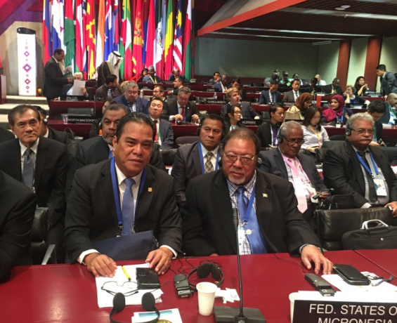 Speaker Simina Leads FSM Congressional Delegation to the 141st Inter- Parliamentary Union Assembly