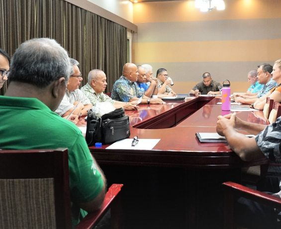 Committee to Wait meets with President Panuelo on FY2021 Budget