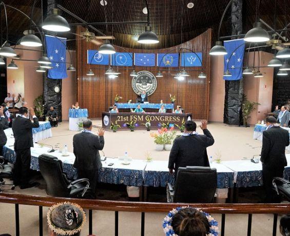 Simina, Moses and Harper maintain Congress Leadership; Panuelo and George move to Executive